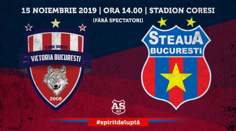 Etapa XIV: ACS Victoria București - STEAUA București