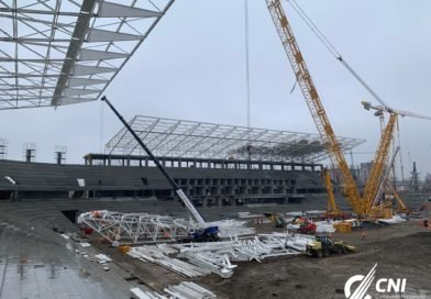 Stadiul lucrărilor de pe stadionul Steaua