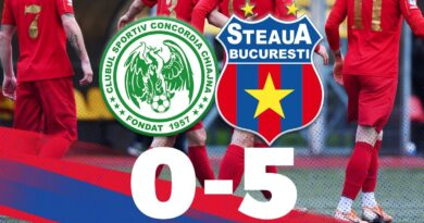 Etapa 15: Concordia Chiajna II 0-5 Steaua