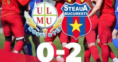 Baraj: Mostiştea Ulmu 0-2 Steaua