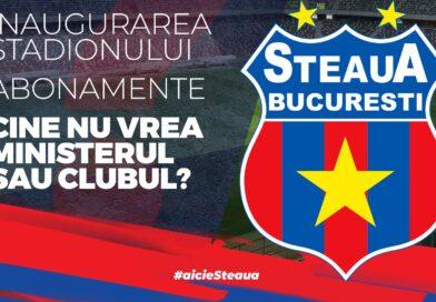Care este viitorul echipei de fotbal Steaua Bucureşti?