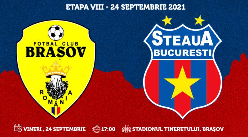 Etapa a VIII-a: FC Braşov – Steaua