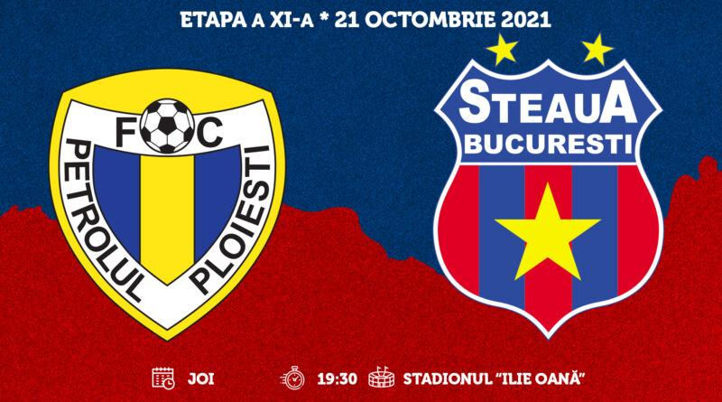 Etapa a XI-a: Petrolul Ploieşti – Steaua